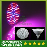 Wholesale Led Ufo Grow E27 - Newest hydroponics lighting 85-265V 15W E27 RED BLUE SMD 126 LEDS Hydroponic LED Flowering Plant Grow Lights led bulb LED light lamp 100