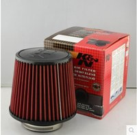 Wholesale mm and mm Height Car High Flow K N Cone Cold Air Intake Filter Cleaner car KN mushroom head