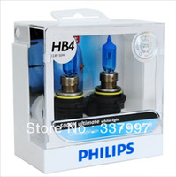 Wholesale Diamond Vision Bulbs - Wholesale-Orignal germany diamond vision 5000k 9006 HB4 ultimate white light car halogen bulb car lights headlight