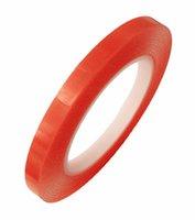 fita dupla acrílica venda por atacado-5mm * 25 m Vermelho Dupla Face Fita Adesiva Adesivo de Alta Resistência Acrílico Gel Adesivo Dupla Face Fita Para O Telefone LCD tela