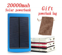 Wholesale Sun Panels Energy - 2017 energy Solar Power Bank 120000mah solar panel Middle East Hot sale Charging Battery can sun and usb charing For all phone