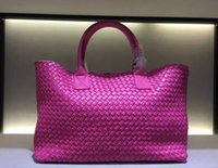 Wholesale easter light string - luxury brand scale sheepskin woven bag Top quality woman handbag Fashion inside String tote Multicolor