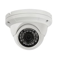 Wholesale Wide Angle Lens Dome Cameras - Analog surveillance camera HD 1200TVL Security Camera, Surveillance CCTV Infrared Dome Camera with Night Vision and 3.6 mm Lens Wide angle
