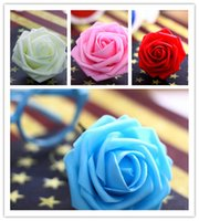 Wholesale Silk Flowers For Wedding Ivory - 100pcs 10cm Ivory Artificial Flowers Silk Rose Head Diy Decor Vine Flower Wall Wedding Party Decoration Gold Artificial Flowers For Decor