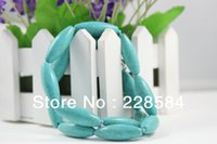 Wholesale Minimum Orders Necklace Wholesale - Wholesale-Minimum Order $ 8 (can be mixed batch) synthetic turquoise beads, fashion long necklace, promotional ultra-low discount, 2015