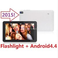 Wholesale Mid Tablet Screens - Android 4.4 Bluetooth 512M 8GB Capative screen WiFi Camera with Flashlight MID 9 inch A33 Quad Core Tablet PC