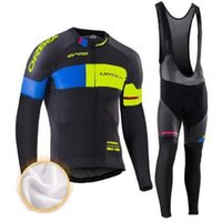 Wholesale orbea bike cycling long online - Orbea Cycling Jerseys Cycling Set Winter Thermal Fleece Long Sleeves Racing MTB Suit Maillot Bike Clothing Ropa Ciclismo Sports Clothes
