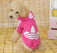 Wholesale Designer Hoodies Wholesale - Cool Designer Pet Dog Pet Clothes High Quality Fashion and Warm Dog Winter Hoodies Pet Clothes! 7 color