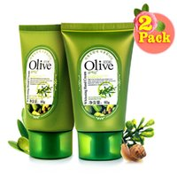Wholesale Organic Lotions - Wholesale-Organic olive Hand Cream Therapy Dry Skin Fast Defender Absorbing Nourishing Repair Tony Moly Shea Butter Lotions(2 Pack)