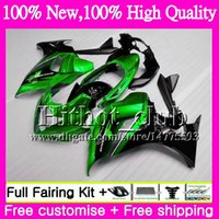 Wholesale Dark Blue Katana - Bodys For SUZUKI KATANA GSXF 650 650F GSX650F 08 09 10 11 12 13 32HT18 GSXF650 2008 2009 Green black 2010 2011 2012 2013 Motorcycle Fairing