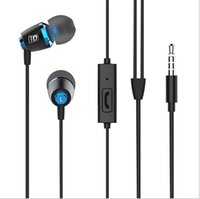 Wholesale Cheap Earphones For Sale - On sale Freeshipping Cheap NEW LEADSTAR R1 3.55mm in micro earphone stereo metal super bass noise cancelling earphone for mobile phone mp3