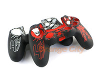 Wholesale sony playstation case online - Transformers Protective Silicone Skin Case Grip Cover for PS4 Dualshock Controller Shell ps4 decals for sony playstation