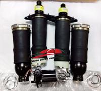 Wholesale Suspension Compressor - Complete set Allroad Quattro C5 4Wheel Air Ride Suspension Air Spring Bags & Compressor Kit 4Z7616007 4Z7616051D 4Z7616051A