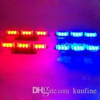 lampe de poche 12v achat en gros de-4 IN 1 voiture LED lampe de poche lampe de poche stroboscopique a conduit la lumière d'avertissement avec boîte de commande haute qualité LED Light KF-L3084
