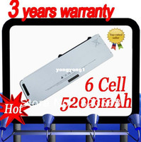 Wholesale Battery A1281 - Durable- A1281 MB772 MB772* A A1286 MB470* A MB471* A 6 cell White 100% compatible Laptop Battery