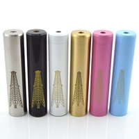 Wholesale Top Quality Mechanical Mod - Rig Mod 7Colors Mechanical mod Electronic Cigarette Top Quality rig mod tube fit 18650 battery for freakshow atty doge v2.0 RDA DHL free