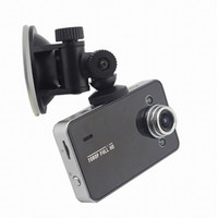 "Wholesale Vehicle Black Box Dvr - Car DVR Recorder K6000 w  Retail Box Full HD Vehicle Cameras Camcorder 2.4"" 1080P Vehicle Black box DVR Night Version Wide Angle Lens Dvrs"