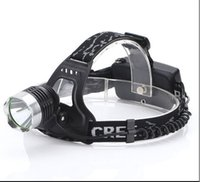 Wholesale Torch Xml U2 - Drop shipping CREE XML T6 U2 LED 2000 lumens Aluminum alloy Headlamp Head Torch Lamp light Flashlight 3 Mode black new+ AC Charger