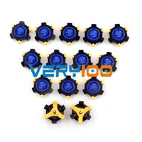 Wholesale Spiked Track Shoes - 14pcs Golf Shoe Spikes Replacement Champ Fast Twist Cleat System Screw Studs order<$18no track