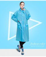 Wholesale Bicycle Rain Gear - Good Quality EVA Candy Color Fashion Girls Women Man Waterproof Raincoat Bicycle Rain Jacket Rain Coat Rainwear Poncho Rain Gear
