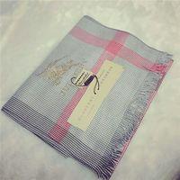 Wholesale Beautiful Shawls - New fashion scarf, winter % cotton scarf, soft and beautiful shawl super long 180*70cm grid style