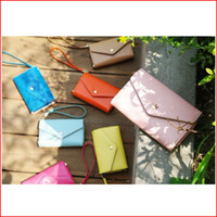 Wholesale Crown Smart Pouch Wallet Case - Free shipping Universal Crown PU Leather Smart Pouch Wallet Case For Galaxy S2 S3 S4 i9500 S5 i9600 iPhone 4 4S 5 5S 5C Multi-Color