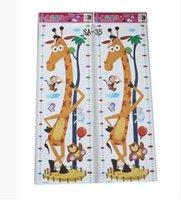 Wholesale Tall Nursery Stickers - 2015 Korean version of the children's bedroom height posted stickers nursery cartoon feet tall (6 optional)