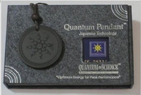 Wholesale Quantum Scalar Energy Necklace - Energy Quantum Science Scalar Energy Pendant volcano Necklace With Product Registration Card Fashion Body jewelry