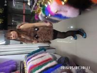 Wholesale Ostrich Vests - Wholesale-2015 The new Set auger ostrich hair fur vest