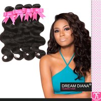Wholesale Bresilien Hair - Rosa Hair Products Brazilian Virgin Deep Body Wave Weave 4 Bundle Deals Grade 6a Brazillian Unprocessed Virgin Hair Cheveux Bresilien