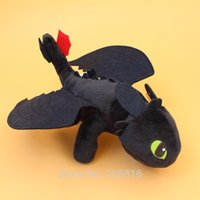 Gros Nuit-Fury Peluche Dragons 2 Toothless dragon peluche Dolls 10