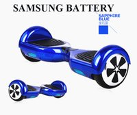 NO TAX Hoverboard 6.5inch SAMSUNG BATTERY Wheel Smart Balance Scooter elettrico Motorizzato Skateboard Stile classico BLUETOOTH LED light