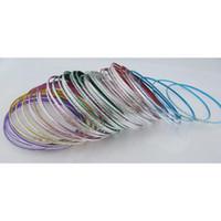 Wholesale Thin Alloy Bangles - TXL95 color bangle bracelet thin metal ring bracelet bracelet batches WY112 500p