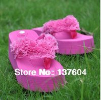 Wholesale Cheapest Leather Slippers - Wholesale-Cheapest 2015 hot sale Free Shipping high quality ladies summer beach wear slippers sandals high heel sandal