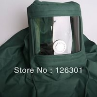 blast abrasive - BLASTING HOOD SAND ABRASIVE GRIT SHOTSANDBLASTER MASK ANTI DUST EQUIPMENT