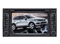 Wholesale Touareg Gps Radio - 2017 new 8 inch Car DVD player gps navigation for VW touareg 2009 2006 2008 2010 BLUETOOTH RADIO PLAYER free ship+gps map+rearview camera