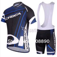 Wholesale Cheap Orbea - ORBEA Team Blue Cycling Jersey Cheap Custom Cycling Wear for Men Cycling Clothing with Shorts Sets Hot Sale C011