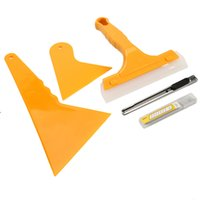 Wholesale Tinted Film For Car Windows - 5pcs Car Window Tint Tools Kit for Film Tinting Scraper Application Installation