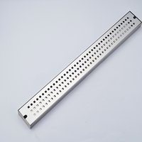 Wholesale Drain Grating - Wholesale And Retail Chrome Stainless Steel Floor Filler Bathroom Shower Grate Waste Grill Square Ground Leakage