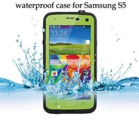 Wholesale battery cover s4 for sale – best Waterproof Shockproof Dirtproof Redpepper Hard Case Cover Skin Protector for Samsung Galaxy S5 I9600 S4 with Retail Package high quality