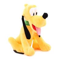 juguetes para perros de anime al por mayor-1 unids 30 cm Pluto Perro Muñeca Anime Juguetes de Peluche Juguetes de Peluche Animales de Peluche Juguetes de Navidad para Niños Niños Regalos de Cumpleaños