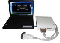 máquinas pequeñas al por mayor-Caja de escáner de ultrasonido CEISO con tamaño pequeño y función potente / máquina de caja ultrasónica / dispositivo de caja de eco humana o VET estable o ecografía por PC