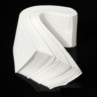 Wholesale Big Strips - Big discount 100pcs Lot Professional Wax Waxing Strips Hair Removal Paper Nonwoven Epilator free shipping