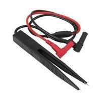 Wholesale Tweezer Probe Multimeter - New Precision Fine SMD Test Clip Meter Probe Multimeter Tweezer Capacitor