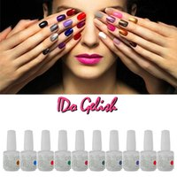 Wholesale Gray Nail Tips - Nail Polish Soak Off Gel Polish Gelish Nail Art UV Gel Long Lasting 299 Colors Any 12 Colors Lot Gel Tips