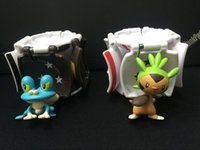 Wholesale Transformer Toy Wholesale - Hot Sale Poke ball Explosion Anime Elf Ball Pikachu Super Master PokeBall with action figure in Pop-up Elf Go Fighting Transformer Ball