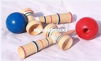 Wholesale Educational Toy Funny Bahama Traditional Wood Game Skill Kendama Ball