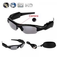 Wholesale Dv Dvr Spy Sunglasses Camera - Sunglasses Spy Hidden Camera Camcorder Mini DV DVR Mobile Eyewear Video Recorder 1280x960