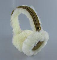 Wholesale Sheepskin Earmuffs - Wholesale-genuine sheepskin ear cover real earmuffs