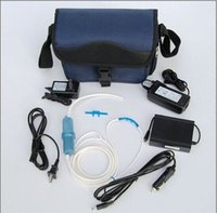 Wholesale Two batteries Mini Portable Oxygen Concentrator oxygen generator with good quality for healthcare use